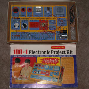 Radio Shack 100 in 1 kit