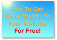 How To Get More Traffic To My Blog