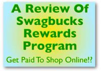 A Review Of Swagbucks Rewards Program - Get Paid To Shop Online!?